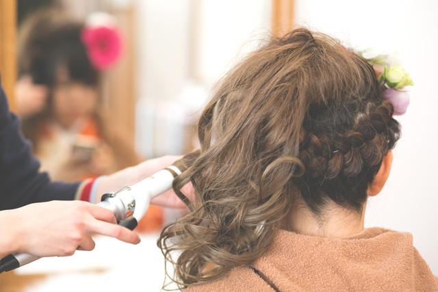 成人式のヘアスタイル